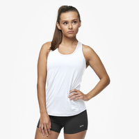 Eastbay Racerback Tank - Women's - All White / White