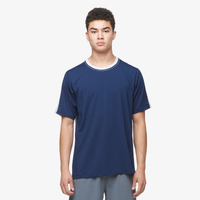 Eastbay EVAPOR Premium S/S Loose Fit T-Shirt - Men's - Navy / Silver