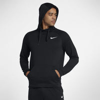 Nike Lightweight Fleece Hoodie - Men's - Black / White