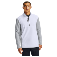 Under Armour Storm Evolution Daytona Golf 1/2 Zip - Men's - White