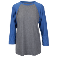 Next Level Tri-Blend 3/4 Sleeve Raglan - Men's - Grey / Blue
