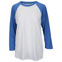 Next Level Tri-Blend 3/4 Sleeve Raglan - Men's - White / Blue