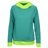 Eastbay Evapor Premium CB Warm Up Hoodie - Women's - Aqua