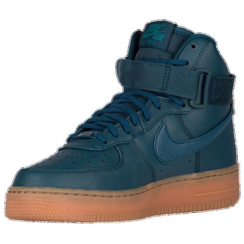 Livraison gratuite authentique Nike Air Force 1 Bleu Avec Haut En Bas Haute Tan geniue stockiste 3I4tWmqV2