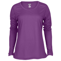 Eastbay EVAPOR Feather Light L/S T-Shirt - Women's - Purple