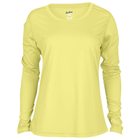Eastbay EVAPOR Feather Light L/S T-Shirt - Women's - Yellow