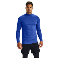 Under Armour Rush ColdGear Mock Neck - Men's - Blue