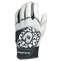 DeMarini Shatter Batting Gloves - Men's - White / Black