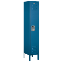 Salsbury Assembled Single Tier Standard Locker - Blue / Blue