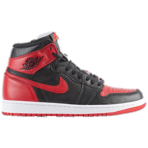 8bca711d4433 Jordan Retro 1 High OG - Men s - Basketball - Shoes - Black University  Red White