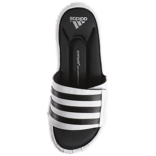 b5b2fed9899 adidas Superstar 3G Slide - Men s - Casual - Shoes - White Black Metallic  Silver