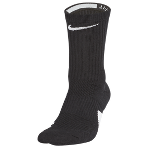 Nike Elite Crew Socks - Black/White