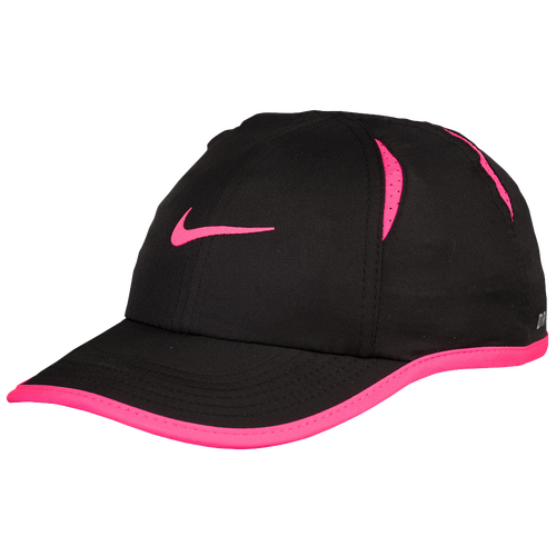Nike Featherlight Cap - Girls  Infant - Casual - Accessories - Black ... 8c2e291cf58