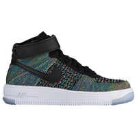 Nike Air Force 1 Ultra Flyknit - Boys\u0027 Grade School - Black / White