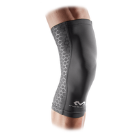 McDavid Active Comfort Compression Knee Sleeve - Grey / Black