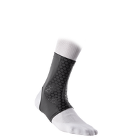 McDavid Active Comfort Compression Ankle Sleeve - Grey / Black