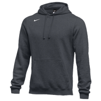 Nike Team Club Fleece Hoodie - Boys' Grade School - Grey / Grey
