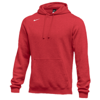 Nike Team Club Fleece Hoodie - Boys' Grade School - Red / Red