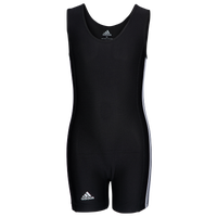adidas Youth 3 Stripe Singlet - Boys' Grade School - Black