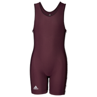 adidas Youth 3 Stripe Singlet - Boys' Grade School - Maroon