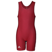 adidas 3 Stripe Girl's Singlet - Girls' Grade School - Red