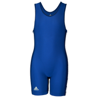 adidas 3 Stripe Girl's Singlet - Girls' Grade School - Blue