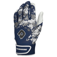 DeMarini Digi Camo Batting Gloves - Grade School - Navy / White