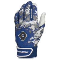 DeMarini Digi Camo Batting Gloves - Grade School - Blue / White