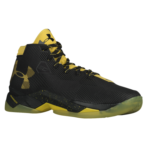 Under Armour Curry 2.5 - Boys' Preschool - Basketball - Shoes - Curry,  Stephen - Black/Yellow