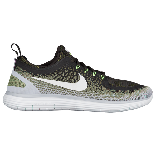 Nike Free RN Distance 2 - Men's - Running - Shoes - Legion Green/Palm  Green/Black/White