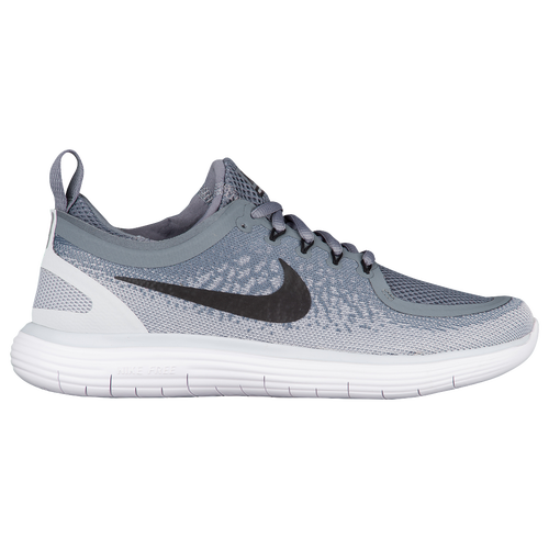 Nike Free RN Distance 2 - Women's Running Shoes - Cool Grey/Black/Wolf Grey/Stealth 63776002