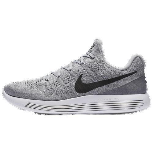 Nike LunarEpic Low Flyknit 2 - Men\u0027s - Grey / Black
