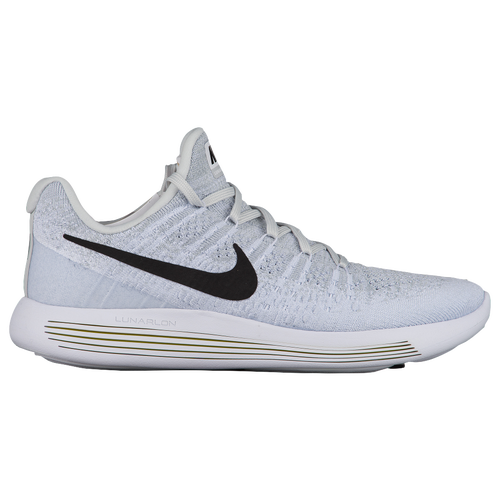Nike LunarEpic Low Flyknit 2 - Men's - Running - Shoes - White/Black/Pure  Platinum/Wolf Grey