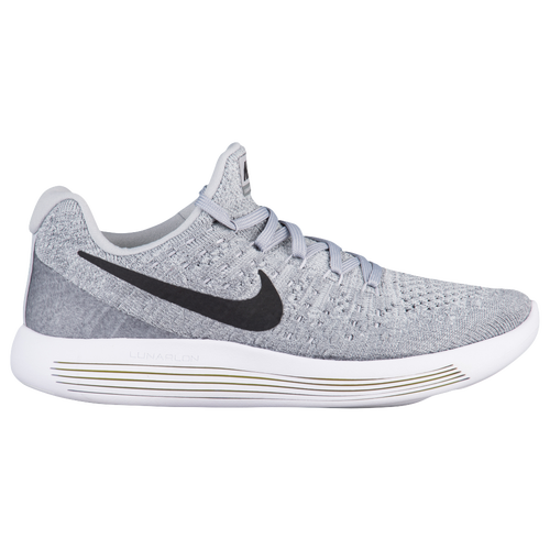 c46d53950944 Nike Lunarepic Low Flyknit 2 - Women s - Running - Shoes - Wolf  Grey Black Cool Grey Pure Platinum