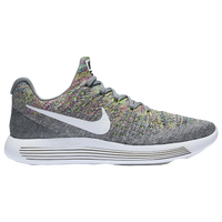 Nike Lunarepic Low Flyknit 2 - Women\u0027s - Grey / White