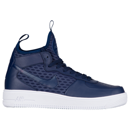 Nike Air Force 1 Mediados - Mens Azules