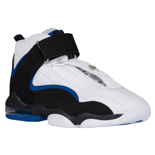 b118ecc60495 Nike Air Penny IV - Men s - Basketball - Shoes - White Black Atlantic Blue