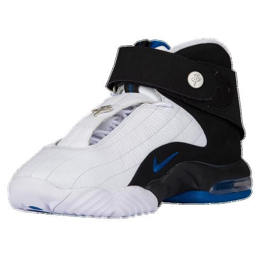 22cd346fcf6a Nike Air Penny IV - Men s - Basketball - Shoes - White Black Atlantic Blue