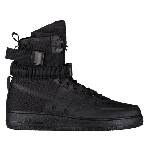 nike air force one boots black