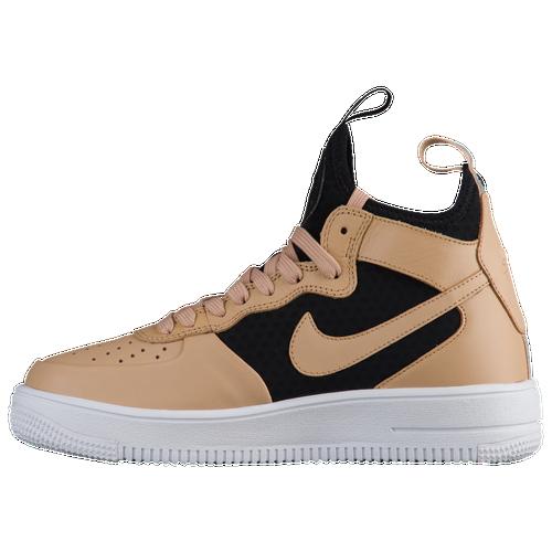 608b87bcc3a9 Nike Air Force 1 Ultraforce Mid - Women s - Basketball - Shoes - Vachetta  Tan Vachetta Tan Black White