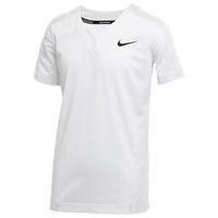 Nike Team Vapor Select 1-Button Jersey - Boys' Grade School - White