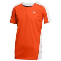 Nike Team Vapor Select 1-Button Jersey - Boys' Grade School - Orange / White