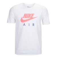 Nike Air T-Shirt - Men's - White / Pink