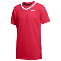 Nike Team Vapor Select V-Neck Jersey - Boys' Grade School - Red
