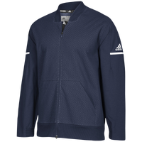 adidas Team Squad Bomber - Men's - Navy / White