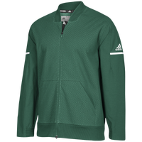 adidas Team Squad Bomber - Men's - Dark Green / White