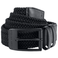 Under Armour Braided 2.0 Golf Belt - Men's - All Black / Black