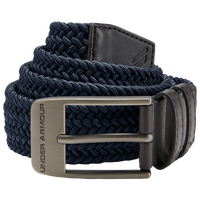 Under Armour Braided 2.0 Golf Belt - Men's - Navy