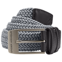 Under Armour Braided 2.0 Golf Belt - Men's - Grey