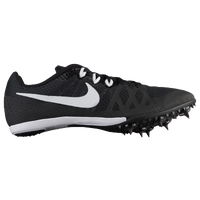 Nike Zoom Rival MD 8 - Girls' Grade School - Black / White